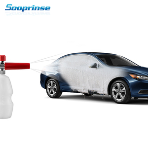 """Image 5 - Sooprinse High Pressure Washer Foam Lance 1/4""""Quick Connect Snow Soap Foamer car Cleaning Washing Adjustable foam nozzle"""