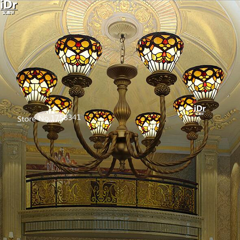 online get cheap tiffany style chandelier aliexpress, Lighting ideas