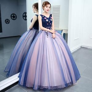 Image 3 - รูปภาพจริง 2020 สินค้าใหม่มาใหม่สีสันยาวชุดราตรีอย่างเป็นทางการ Gowns เจ้าสาว Shop พวกเขา Uniform สำหรับเปียโน SOLO แสดง