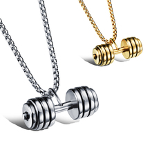 New Personalized Boy Pendant statement Necklaces for Men 316 Stainless Steel Chain Fashion Men's Jewelry Halloween Gift