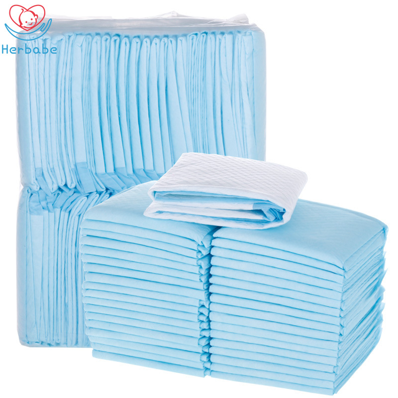 Waterproof Disposable Infant Diaper Pad Breathable Incontinence Bed Protector Disposable Absorbent Sheet Newborn Children Disposable Mattress Menstrual Pad Baby Supplies for Adult or Pets. Child