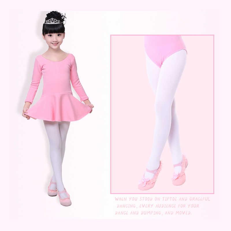 אופנה עירום שחור לבן רגל ילד גרביונים ניילון חותלות בנות ילדי בלט ריקוד גרביונים 80D