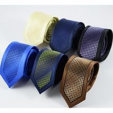 GUSLESON, новинка, тонкие галстуки для мужчин, высокое качество, Свадебный галстук, в горошек, полосатый галстук, Corbatas Hombre, галстук, мужские галстуки для бизнеса
