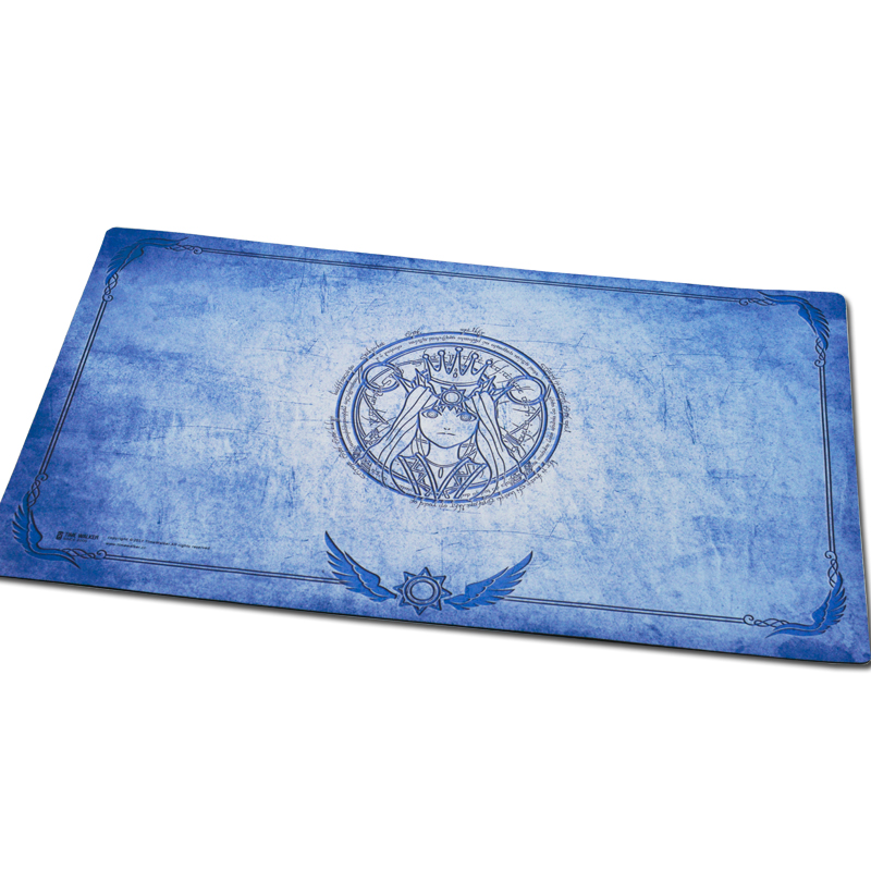 Godness Phoebe playmat for board game magical the tool Yu-Gi-Oh table game large mouse pad table play mat for games blue