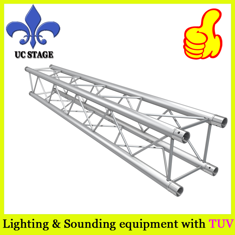 290x290mm x1000mm long spigot aluminum truss for Event background trusses 290mm aluminum stage truss structure event lighting spigot truss with black coated