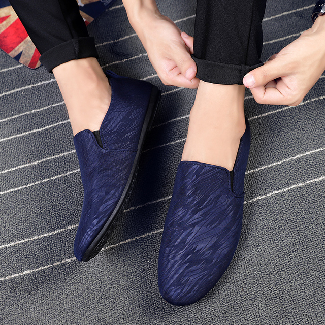 64996795be2 Fashion Men Loafer Shoes Slip on Male Casual Flat Walking Shoes Trend  Lightweight Comfortable Sneakers Man Flats
