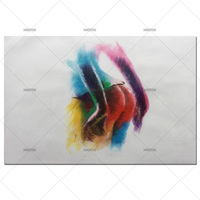 New Graffiti Street Wall Art Abstract Modern African Women Portrait Canvas Oil Painting On Prints For