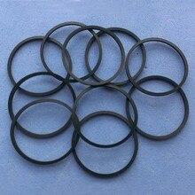 Correa de transmisión de CD VCD para DVD, 2 bolsas, 20 unidades/bolsa, todas las tallas, longitud plegada, 2,5 5,5 cm de grosor, 1,2mm
