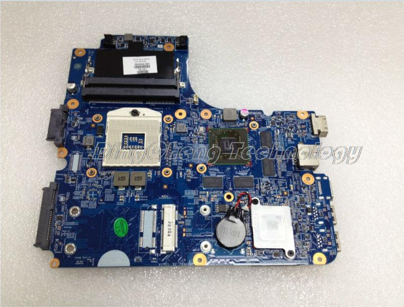 SHELI laptop Motherboard For hp 4440s 4441s 4540s 4740s 683494-001 DDR3 HM76 7650M/2GB non-integrated graphic card 100% tested 683495 001 for hp probook 4540s 4441 laptop motherboard pga989 hm76 ddr3 tested working
