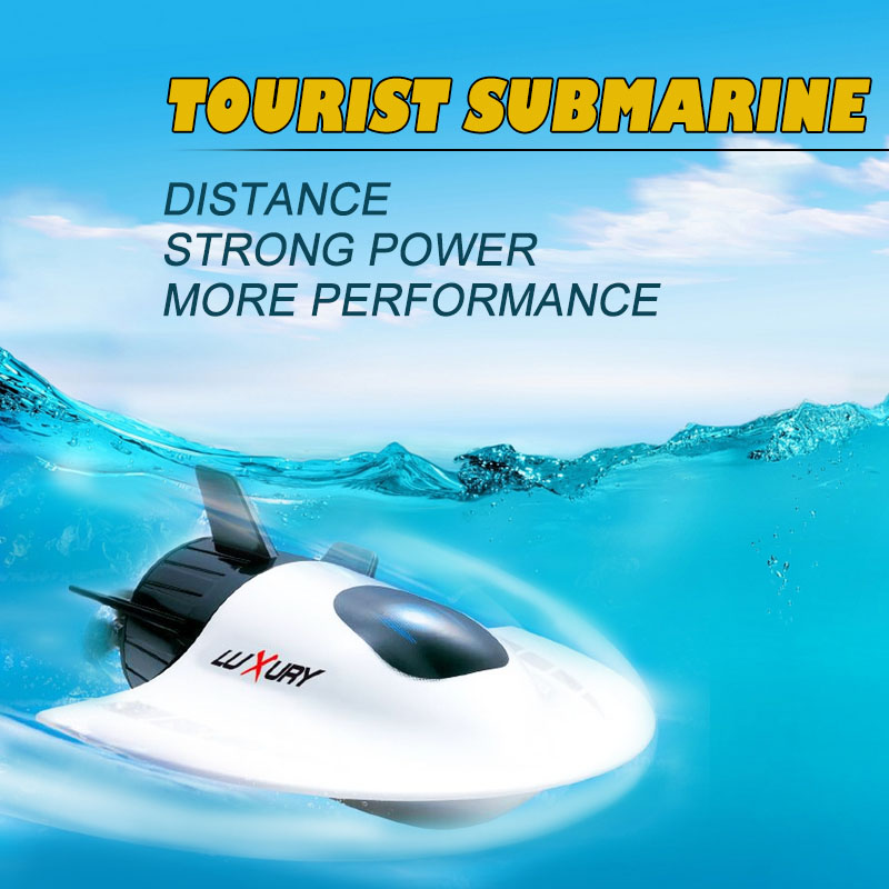 2017 Hot sell electric remote control model toy 4CH 11CM MINI RC Submarine model educational toy for kids as gift