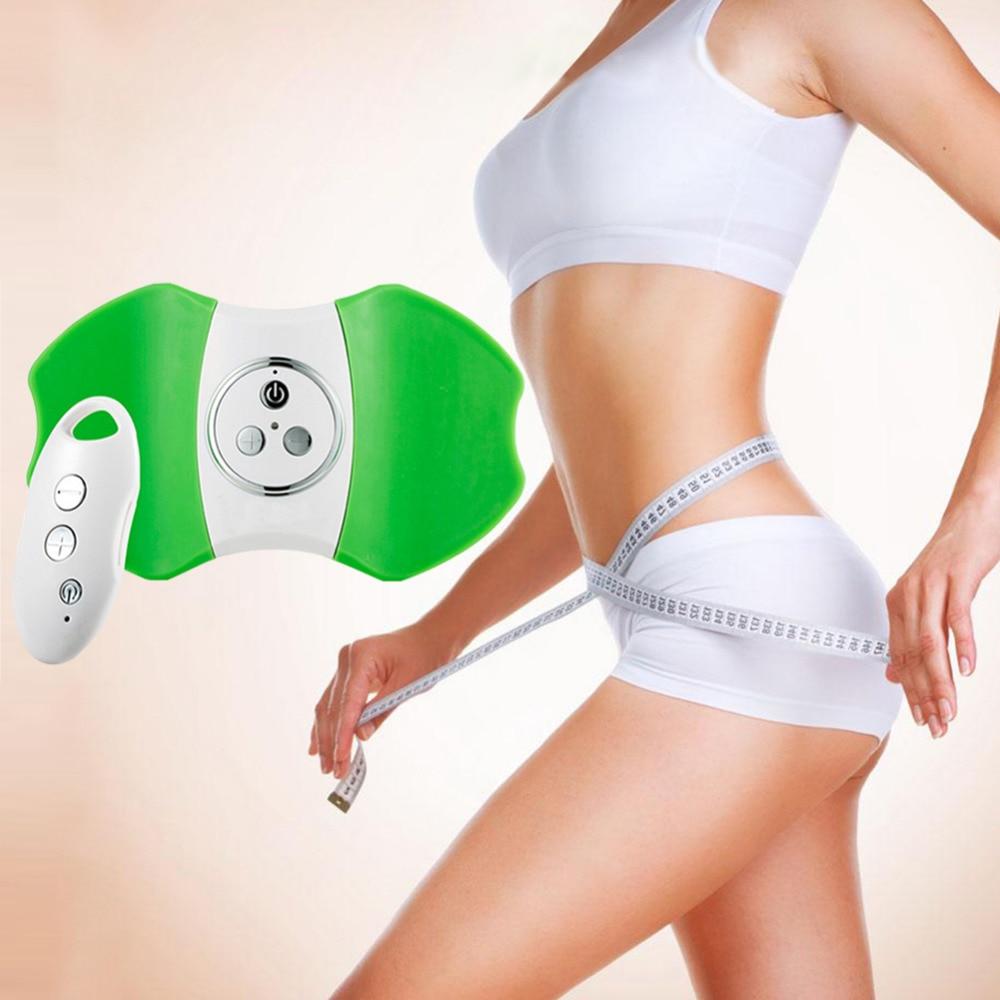 Burning Fat Thin Vibrator Women Slimming Body Shaper Massage Remote Control Movement Slimming Patches Equipment Slimming Machine