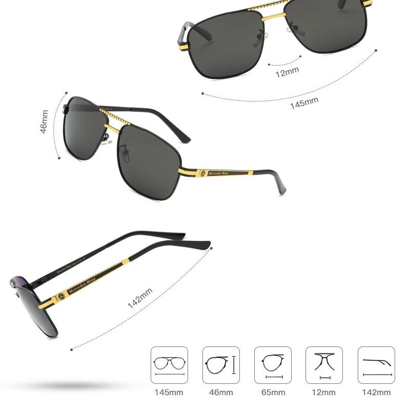 2019 new brand polarized sunglasses men driving UV400 sun glasses male gafas de sol hombre retro square oculos with Original box in Men 39 s Sunglasses from Apparel Accessories