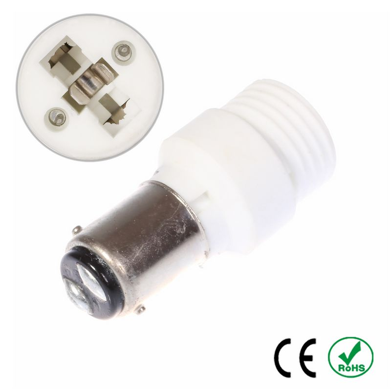 200pcs BA15D to G9 Adapter Lamp Holder Converter Lamp Base Socket Fireproof Ceramic Copper LED Light Bulb Holder Extender Plug