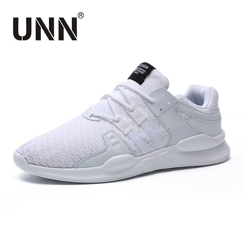 UNN Spring&Summer Fashion Breathable Casual Shoes Men Soft masculino adulto chaussure homme Mens Black Sneakers Man Shoes White 2017 new chaussure homme mens shoes casual leather vulcanize hip hop white men platform summer hot sale breathable black shoes