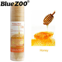 500G Honey Flavor Hard Depilatory Wax Hair Removal No Need Wax Strips Paper For Female Facial