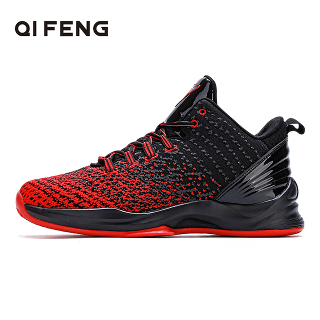 Hot Sale Basketball Shoes Comfortable High Top Gym Training Boots Ankle Boots Outdoor Men Sneakers Fashion New Sport Footwear