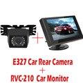E327 Retrovisor Do Carro Da Câmera de Visão Noturna Cor À Prova D' Água + 4.3 Polegada TFT LCD Monitor Do Carro Monitor de Visão Traseira Do Carro