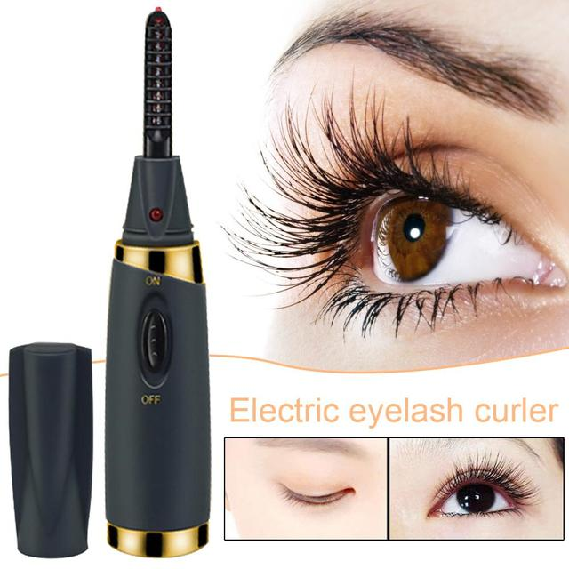 Electric Heated Eyelash Curler USB Electric Heated Makeup Eye Lashes Heated Eyelash Curler Long Lasting Beauty Instrume 1