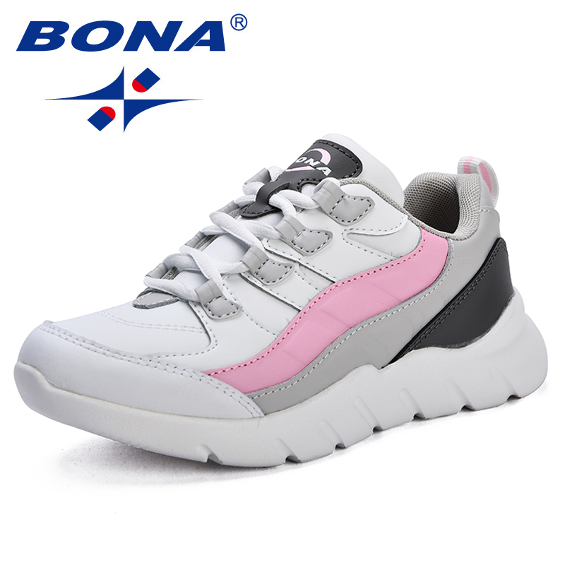 BONA New Arrival popular Style Women Walking Shoes Synthetic Female Athletic Shoes Outdoor Jogging Shoes Lace
