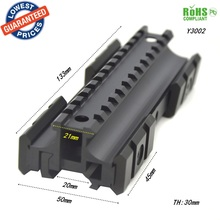 1PC Y3002 Aluminum riflescope mount rail Rail Mount with Hex Wrench for MP5/G3 gun hunting accessories scope bases