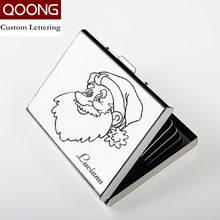 Чехол qoong из нержавеющей стали для мужчин и женщин водонепроницаемый