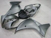 Full Body Kits YZF R1 12 13 Plastic Fairings for YAMAHA YZFR1 2013 2012 2014 Silvery GREY Abs Fairing YZF R1 14