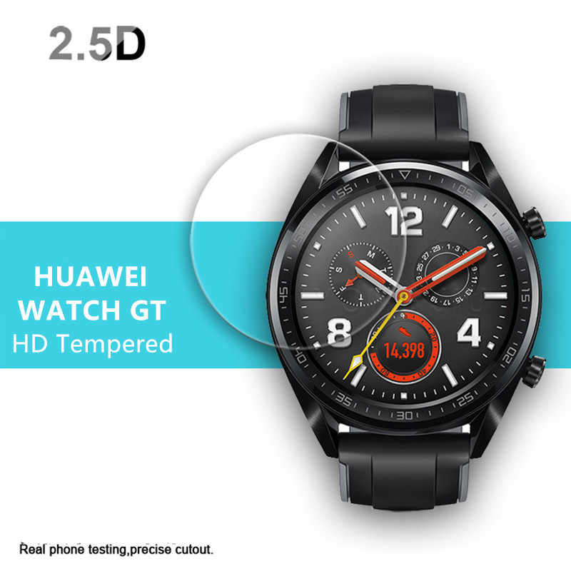cdc114868 9H Hardness Anti-Scratch Screen Protector for Huawei Watch GT Protective  Tempered Glass Film for