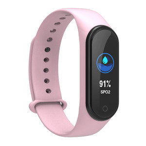Image 3 - New m4 pro smart band HD 0.96 inch color screen heart rate blood pressure fitness tracker waterproof watches pk mi band 4 ID115