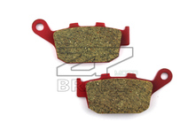 Motorcycle parts Brake Pads Fit HONDA VTR 250 W/Y/1-7 1988-2007 CBR 250 R 2011-2012 Rear OME Red Ceramic Composite Free shipping