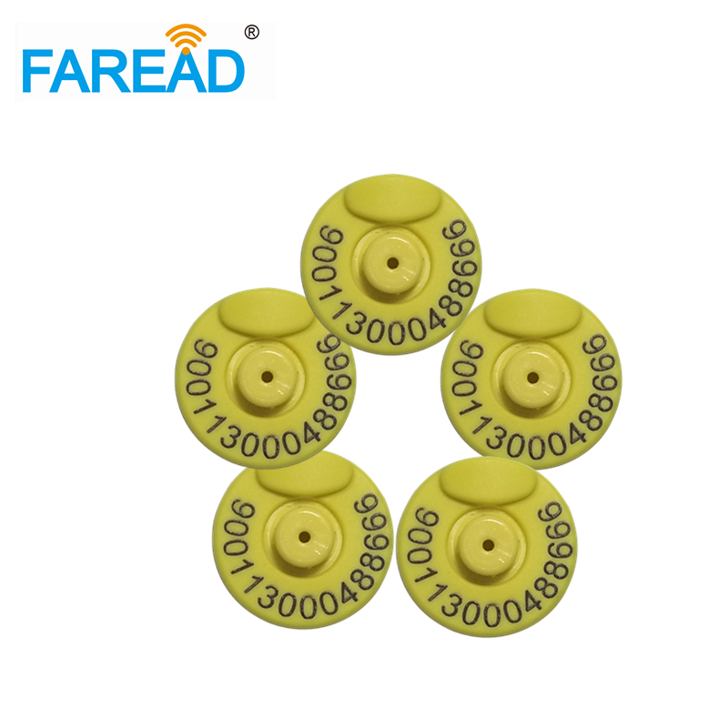 best quality Free shipping RFID tag ear tag Pig,Sheep,Cow ear mark ISO11784/5 FDX B 134.2KHz