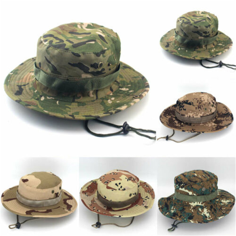 d26b0acf8 Multicam Tactical Airsoft Sniper Camouflage Bucket Boonie Hats ...