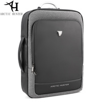 ARCTIC HUNTER USB Backpack Male Multifunction Portable hand bag shoulder Business Travel 15.6 17 inch Laptop backpack men bag