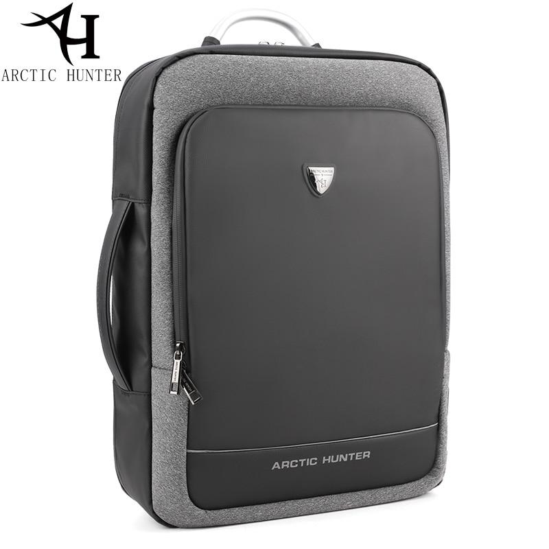 Arctic Hunter Usb Backpack Male Multifunction Portable Hand Bag/shoulder Business Travel 15.6/17 Inch Laptop Backpack Men Bag
