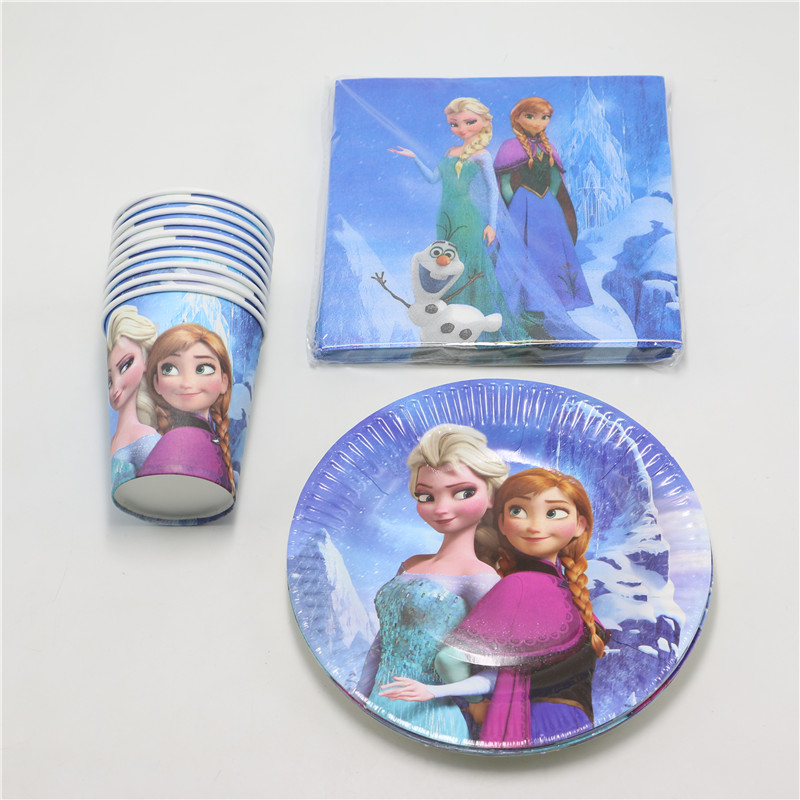Snow Elsa Party Decoration girls Paper Cups+Paper Plates+Paper Napkins for Kids Birthday Party Decoration Supplies 40pcs/lot on Aliexpress.com | Alibaba ...  sc 1 st  AliExpress.com & Snow Elsa Party Decoration girls Paper Cups+Paper Plates+Paper ...