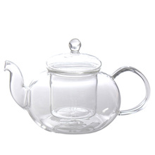 Kungfu Teapot Heat Resistant Glass Tea Pot 800ML Glass Kettle Clear Chinese