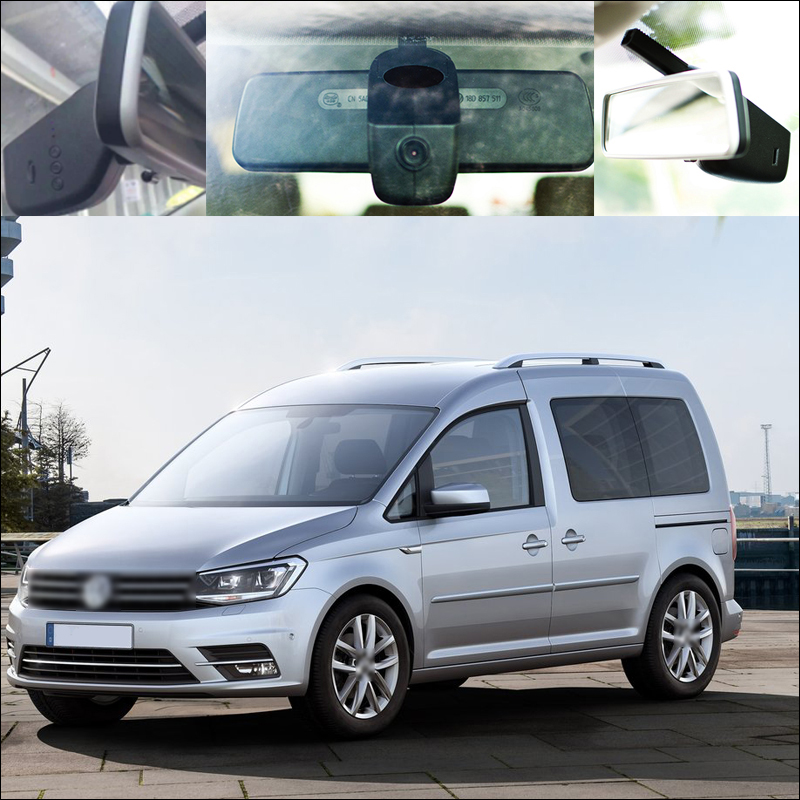 BigBigRoad For vw Caddy APP Control Car Wifi DVR Driving Video Recorder Car Black Box parking camera keep car original style bigbigroad for peugeot 3008 app control car wifi dvr dual camera video recorder night vision car black box wdr car dash camera