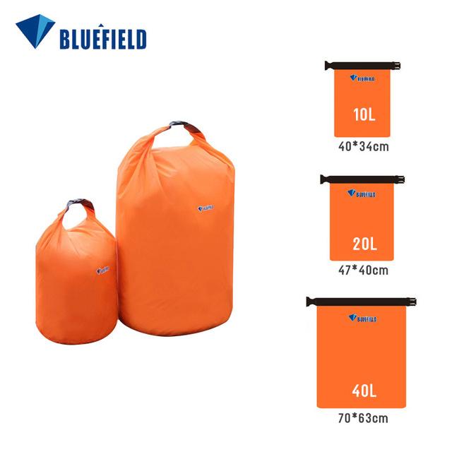 Portable 40L Swimming Bag Outdoor Kayaking Storage Drifting Dry Ultralight Waterproof Rafting Bag