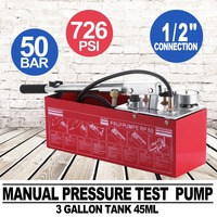 5000kpa Test Bucket Plumbing Hydrostatic Pressure Pump 12L Gas/Water