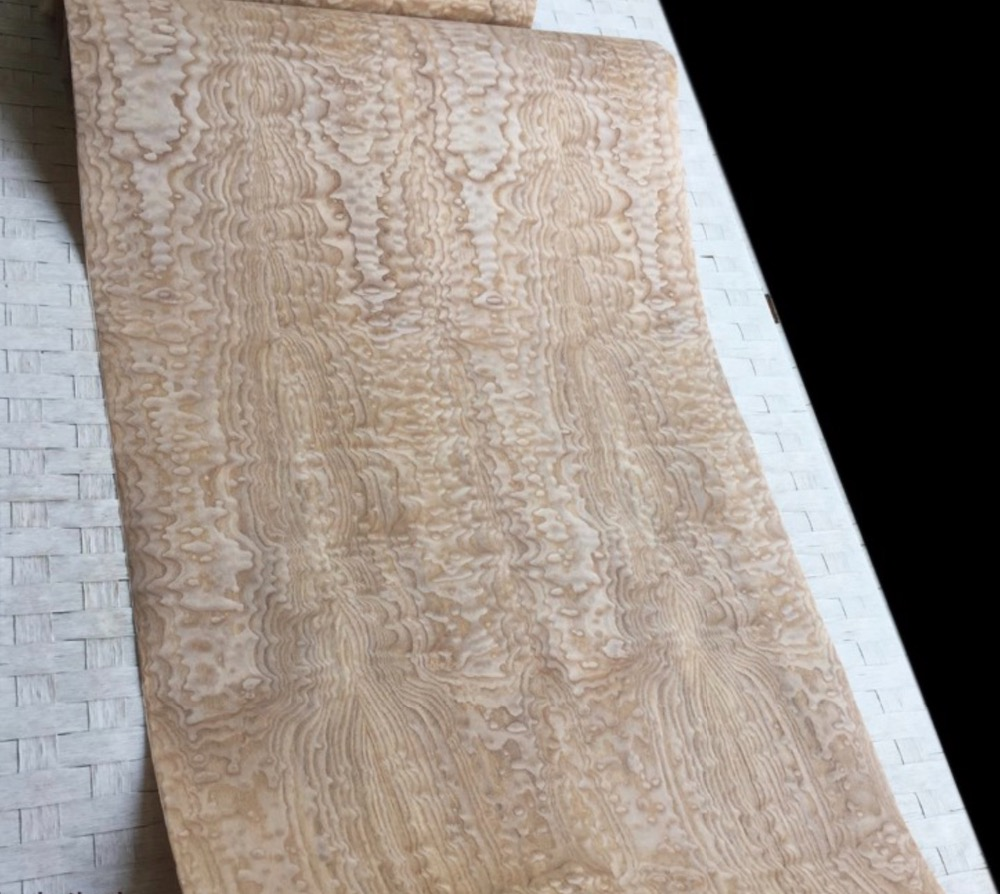 Купить с кэшбэком 2.5Meter/pcs  Width:55cm  Thickness:0.3mm   Splicing Wood Veneer Decoration(back side Non-woven fabric)