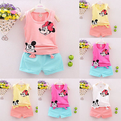 Summer-Cute-Cartoon-2PCS-Kids-Baby-Girls-Floral-Vest-Top-Shorts-Pants-Set-Clothes-Girls-Clothing-Sets-4