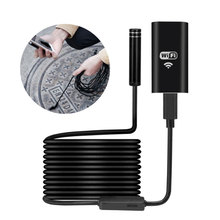 8mm 720P 8LED 3M WiFi Endoscope Waterproof Borescope Inspection Video Min Cameras Micro Camera For Android IOS Phone PC