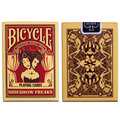 100% ORIGINAL Bicycle sideshow freaks Deck Playing Cards Best Poker New Bicycle Playing Card Magic Card Ellusionist