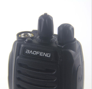 Image 4 - Baofeng Walkie Talkie 100%, Radio bidireccional de 16 canales, Woki Toki UHF, Radio Ham portátil, transceptor PMR Con linterna de 5W, Original de BF C1
