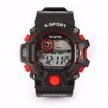 Fashion Boys Children Watches Digital Sports Clock LED Military Silicone Band Kid's Waterproof Wristwatch Colorful Aug16