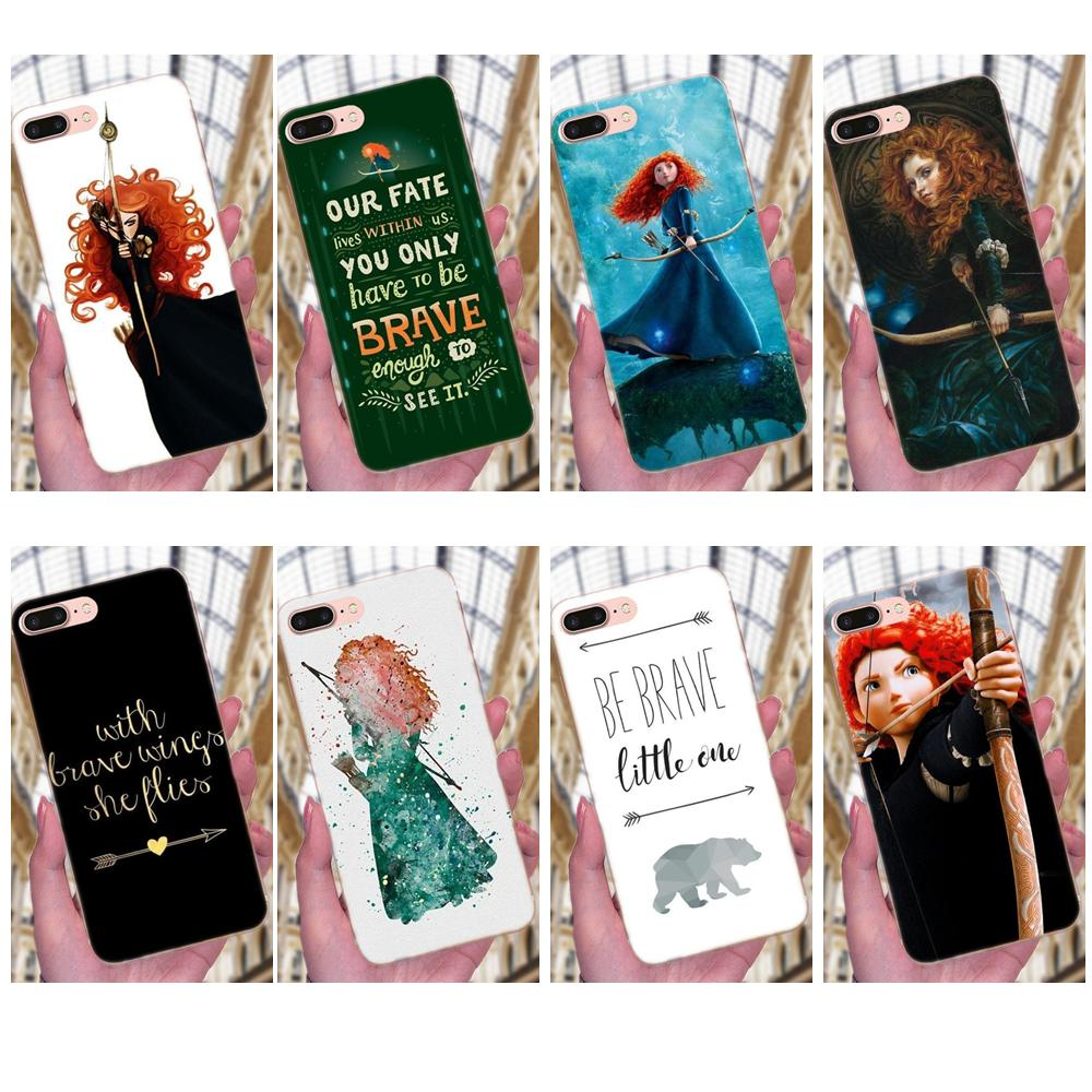 TPU Covers <font><b>Case</b></font> For Apple iPhone 4 4S <font><b>5</b></font> 5C 5S SE 6 6S 7 8 Plus X XS Max XR Brave Princess Movie Merida Archer Splendid image