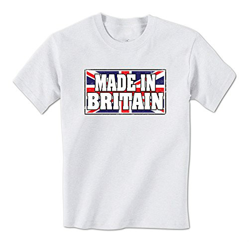 GILDAN man t shirt <font><b>Made</b></font> <font><b>In</b></font> <font><b>Britain</b></font> British Union Jack Flag Mens T-Shirt