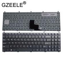 GZEELE ใหม่สำหรับ CLEVO W251HNQ W251HPQ W251HSQ W251HTQ W251HU W251HUQ แป้นพิมพ์ไม่มีกรอบ US เวอร์ชั่นภาษาอังกฤษ