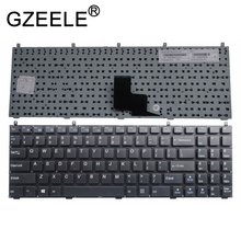GZEELE nuevo para Clevo W251HNQ W251HPQ W251HSQ W251HTQ W251HU W251HUQ teclado sin marco versión en inglés de EE. UU.