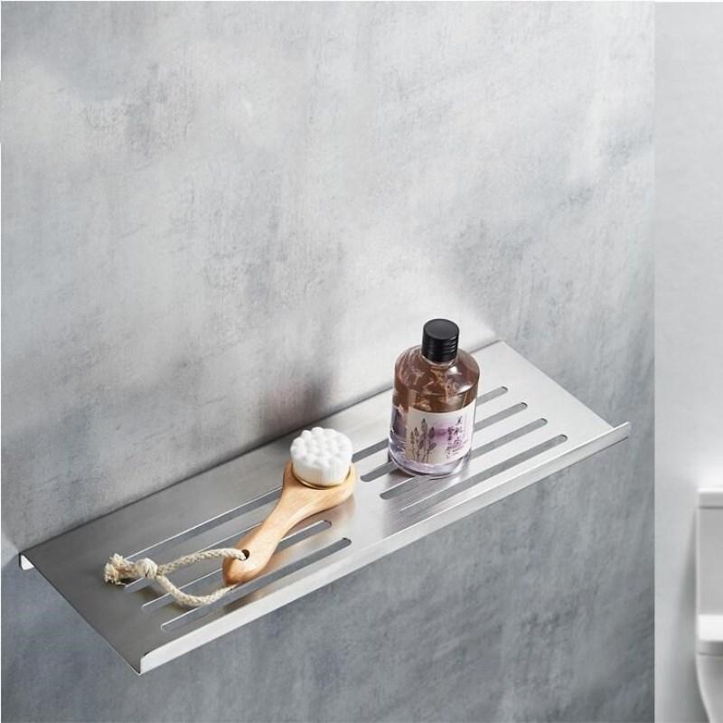 Bathroom Shelves Holder  304 Stainless Steel Soap Basket Bath Shower Shelf  Rack Bathroom Accessories Drill or Drill Free