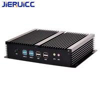 6RS232 последовательный Порты и разъёмы 2 * RJ45 Gigabit LAN Порты и разъёмы 2 HD Дисплей HTPC, тонкий компьютер, тонкий ПК для VPN маршрутизатора, домашнего